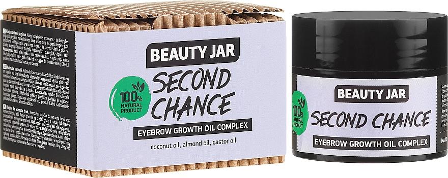 Olaj komplex szemöldökre - Beauty Jar Second Chance Eyebrow Growth Oil Complex