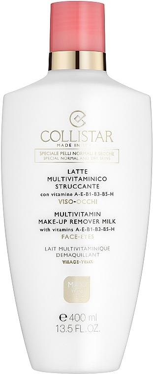 Sminkeltávolító tej arcra és szemre - Collistar Multivitamin Make-Up Remover Milk — fotó N1