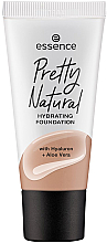Parfüm, Parfüméria, kozmetikum Alapozó - Essence Pretty Natural Hydrating Foundation