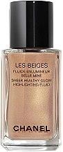 Parfüm, Parfüméria, kozmetikum Highlighter fluid - Chanel Les Beiges Sheer Healthy Glow Highlighting Fluid