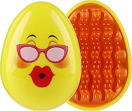 Parfüm, Parfüméria, kozmetikum Hajkefe 2003W, smile szemüvegben - IDC Design Smile Brush
