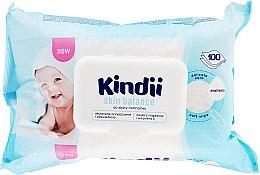 Parfüm, Parfüméria, kozmetikum Nedves törlőkendő gyerekeknek - Cleanic Kindii Skin Balance