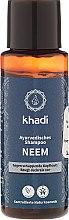 """Parfüm, Parfüméria, kozmetikum Ayurvédikus korpásodás elleni sampon """"Nim"""" - Khadi Neem Shampoo"""