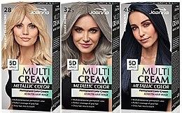 Parfüm, Parfüméria, kozmetikum Hajfesték - Joanna Multi Cream Color Metallic