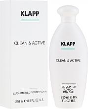 Parfüm, Parfüméria, kozmetikum Hámlasztó száraz bőrre - Klapp Clean & Active Exfoliator Dry Skin