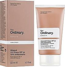 Parfüm, Parfüméria, kozmetikum Napvédő krém ásványi filterekkelo - The Ordinary Suncare Mineral UV Filters SPF30 Antioxidants