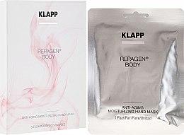 Parfüm, Parfüméria, kozmetikum Fiatalító és hidratáló kézmaszk - Klapp Repagen Body Anti-Aging Moisturizing Hand Mask (minta)