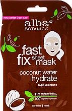 Parfüm, Parfüméria, kozmetikum Hidratáló arcmaszk kokusszal - Alba Botanica Fast Fix Coconut Hydrate Sheet Mask