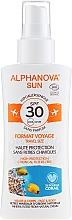 Parfüm, Parfüméria, kozmetikum Napvédő spray - Alphanova Sun Bio SPF30 Spray Voyage