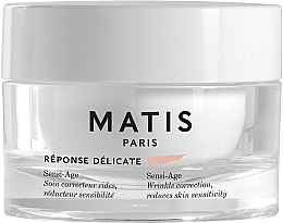 Parfüm, Parfüméria, kozmetikum Ránctalanító nyugtató krém érzékeny bőrre - Matis Reponse Delicate Sensi-Age