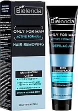 Parfüm, Parfüméria, kozmetikum Szőrtelenítő krém - Bielenda Only For Man Active Formula Cream