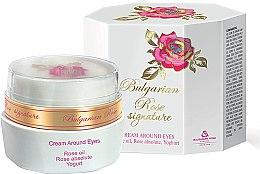 Parfüm, Parfüméria, kozmetikum Szemkörnyéki krém - Bulgarian Rose Signature Cream Around Eyes