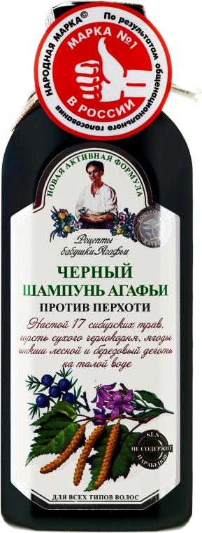 Agáta fekete sampon korpásodás ellen - Agáta nagymama receptjei