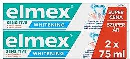Parfüm, Parfüméria, kozmetikum Szett - Elmex Professional Sensitive Whitening Teeth (toothpaste/2x75ml)