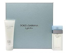 Parfüm, Parfüméria, kozmetikum Dolce & Gabbana Light Blue - Szett (edt/100ml + b/cr/100ml)