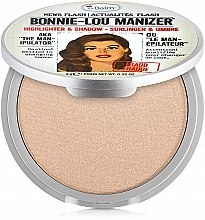 Parfüm, Parfüméria, kozmetikum Highlighter, shimmer és szemhéjfesték - theBalm Bonnie-Lou Manizer Highlighter & Shadow