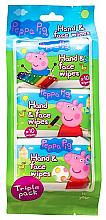 Parfüm, Parfüméria, kozmetikum Nedves törlőkendő - Kokomo Peppa Pig Peppa Hand & Face Wipes