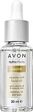 Parfüm, Parfüméria, kozmetikum Vitaminos arcolaj - Avon Nutra Effects Vitamin Rich Facial Oil