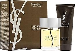 Parfüm, Parfüméria, kozmetikum Yves Saint Laurent LHomme - Szett (edt 100 + sh/g 100)