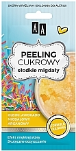 Parfüm, Parfüméria, kozmetikum Cukros arcpeeling édes mandulaolajjal - AA Sugar Scrub Sweet Almonds Oil Peeling