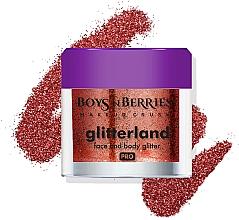 Parfüm, Parfüméria, kozmetikum Glitter arcra és testre - Boys'n Berries Glitterland Face and Body Glitter