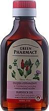 Parfüm, Parfüméria, kozmetikum Hajápoló olaj piros paprika és bojtorján kivonattal - Green Pharmacy