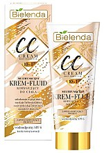 Parfüm, Parfüméria, kozmetikum Multifunkciós CC testkorrekciós krém - Bielenda Magic CC 10in1 Body Correction Cream Waterproof Tanning Effect SPF6