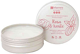 "Parfüm, Parfüméria, kozmetikum Kézkrém ""Rózsa és seha"" - La Saponaria Hand Cream Rose and Shea Butter"