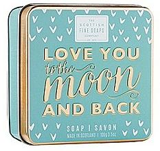 Parfüm, Parfüméria, kozmetikum Szappan - Scottish Fine Soaps Love You To The Moon And Back Soap In A Tin