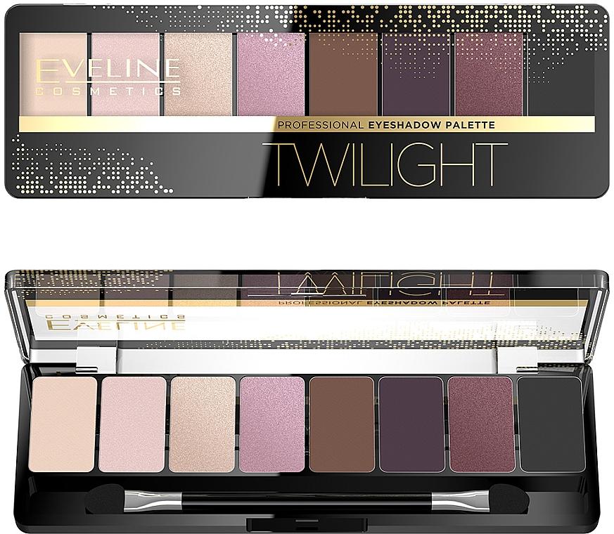 Szemhéjfesték paletta - Eveline Cosmetics Eyeshadow