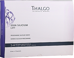Parfüm, Parfüméria, kozmetikum Készlet - Thalgo Marine Silicium Programme (f/ser/6x3ml + f/filler/6x2ml + f/mask/6x100g + f/mask/6pcs + f/ser/6x10ml)
