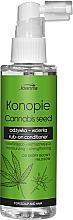 Parfüm, Parfüméria, kozmetikum Lemosást nem igénylő hajkondicionáló kendermag kivonattal - Joanna Cannabis Seed Moisturizing-Strengthening Rub-on Conditioner