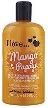 """Parfüm, Parfüméria, kozmetikum Tusfürdő és fürdőhab """"Mangó és papaya"""" - I Love... Mango & Papaya Bubble Bath and Shower Creme"""