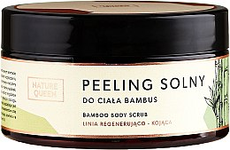 "Parfüm, Parfüméria, kozmetikum Só peeling ""Bambusz"" - Nature Queen Body Scrub"