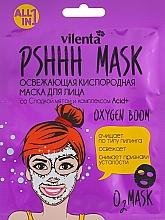 Parfüm, Parfüméria, kozmetikum Frissítő oxigén arcmaszk édes mentával és Acid+ komplexummal - Vilenta Pshhh Mask