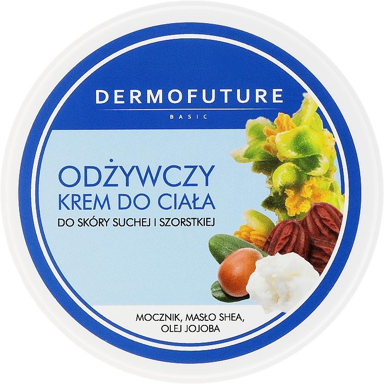 Tápláló testkrém száraz bőrre - DermoFuture