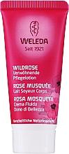 Parfüm, Parfüméria, kozmetikum Vadrózsa testtej - Weleda Wildrosen Verwohnende Pflegelotion