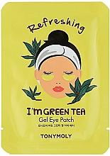 Parfüm, Parfüméria, kozmetikum Gél szemtapasz züld teával - Tony Moly Refreshing Im Green Tea Eye Mask