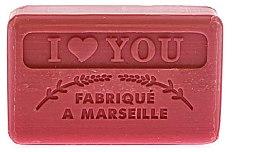 "Parfüm, Parfüméria, kozmetikum Marseillaise szappan ""Szeretlek téged"" - Foufour Savonnette Marseillaise I Love You"