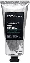 Parfüm, Parfüméria, kozmetikum Fogkrém szénnel - Zew For Men Toothpaste With Charcoal