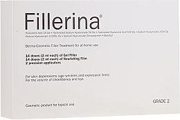 Parfüm, Parfüméria, kozmetikum Dermokozmetikai rendszer, 2. szint - Fillerina Dermo-Cosmetic Filler Treatment Grade 2 (gel/30ml + cr/30ml + applicator/2db)