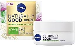 Parfüm, Parfüméria, kozmetikum Nappali ránctalanító krém - Nivea Naturally Good Anti Age Day Cream Organic Burdock Extract