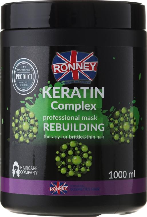Hajmaszk - Ronney Keratin Complex Rebuilding Therapy Mask