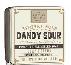 """Parfüm, Parfüméria, kozmetikum Szappan """"Dandy Sour"""" - Scottish Fine Soaps Dandy Sour Sports Soap In A Tin"""
