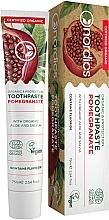 """Parfüm, Parfüméria, kozmetikum Fogkrém """"Gránátalma"""" aloe verával és zsályával - Nordics Toothpaste Pomegranate"""