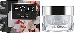 Parfüm, Parfüméria, kozmetikum Ájszakai krém kaviár kivonattal - Ryor Night Cream With Caviar