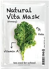 "Parfüm, Parfüméria, kozmetikum Erősítő szövetmaszk ""káposzta"" A vitaminnal - Too Cool For School Natural Vita Mask Firming"