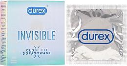 Parfüm, Parfüméria, kozmetikum Óvszer, 3 db - Durex Invisible Close Fit
