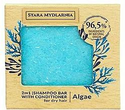 """Parfüm, Parfüméria, kozmetikum Szilárd sampon-kondicionáló """"Tengeri alga"""" - Stara Mydlarnia Algae 2in1 Shampoo Bar"""