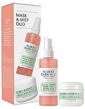 Parfüm, Parfüméria, kozmetikum Szett - Mario Badescu Rose Mask & Mist Duo Set (mask/56g+spray/118ml)